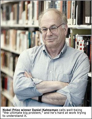 PHOTO: Nobel Prize winner Daniel Kahneman calls wellbeing